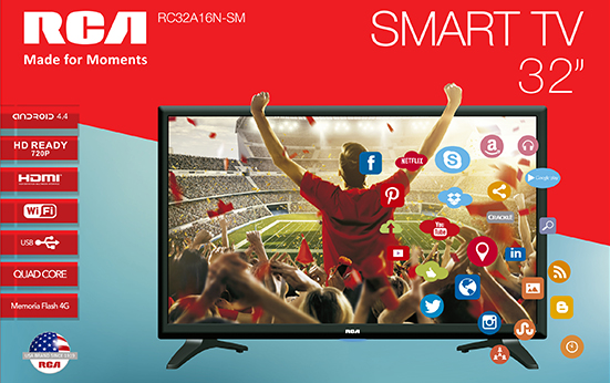 Televisión LED 32 Smart TV