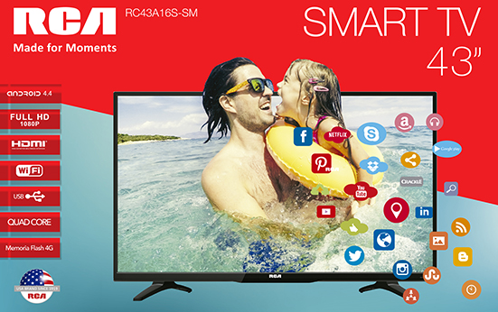 Televisión LED 43 Smart TV