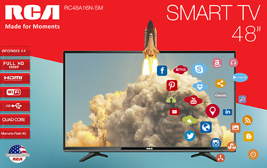 Televisión LED 48 Smart TV