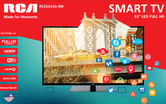 Televisión LED 55 Smart TV